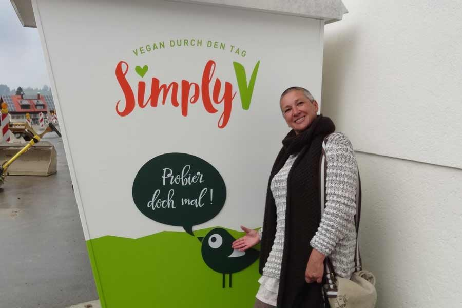 Vegan durch den Tag - Simply V Automat
